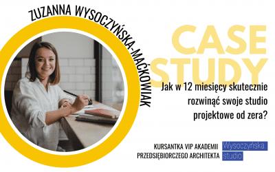 Case study: Jak w 12 miesięcy skutecznie rozwinąć swoje studio projektowe od zera?